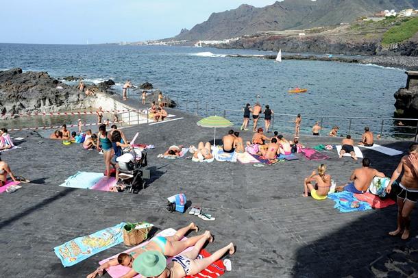Para mejor conocer el municipio lagunero hoy la for Piscinas naturales jover tenerife