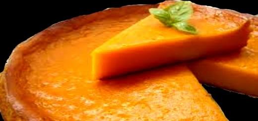 tarta calabaza
