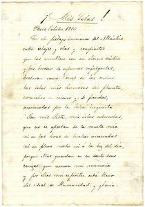 Mis Islas Poema De Nicolás Estévanez Centro De