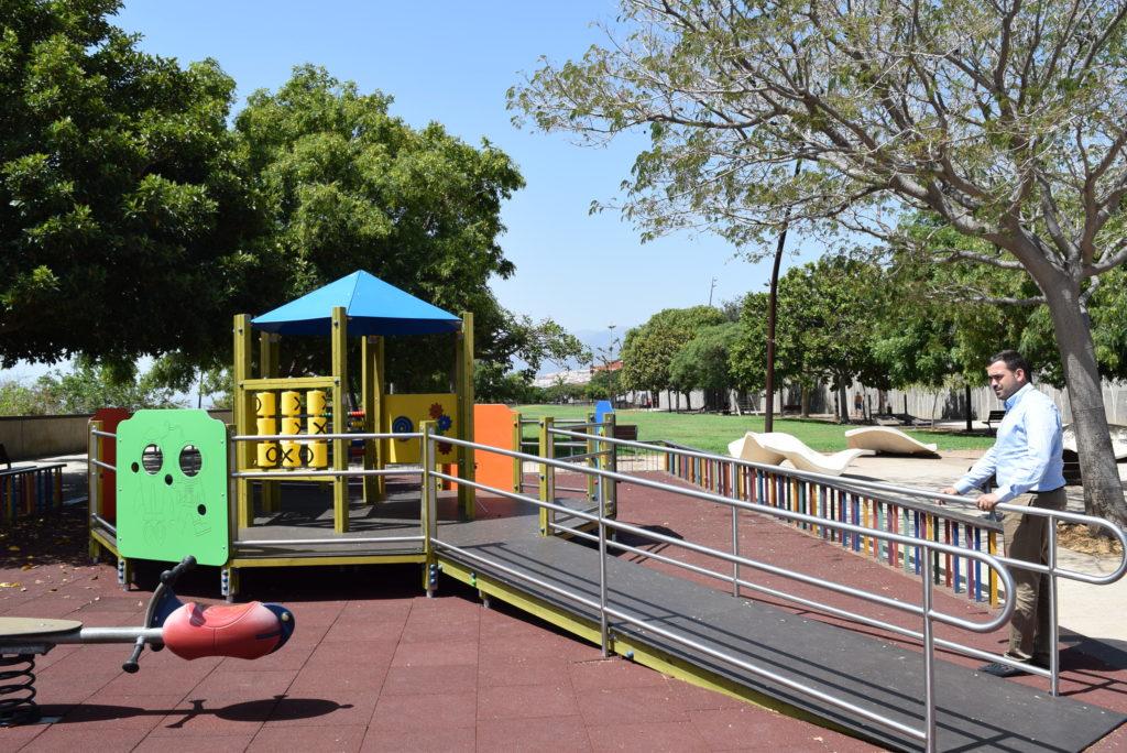 El Ayuntamiento de La Laguna renueva el parque Elfidio Alonso para hacerlo accesible a menores con discapacidad