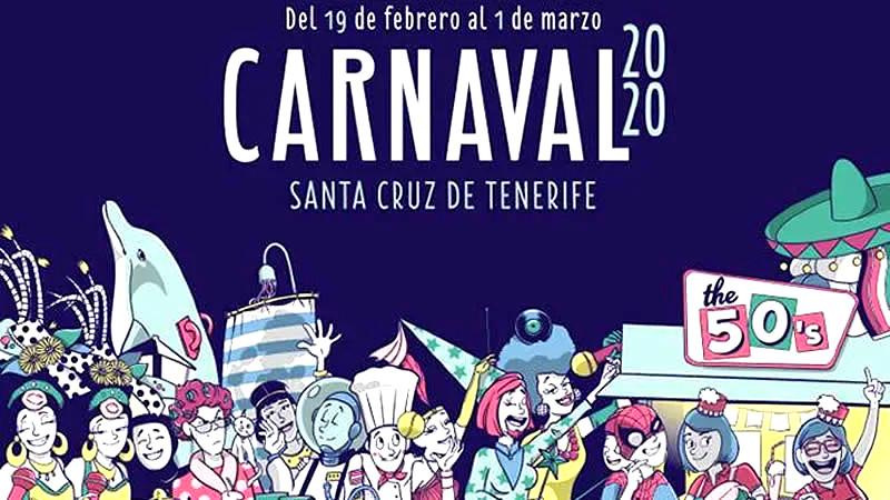 Resultado de imagen de carnaval santa cruz de tenerife 2020